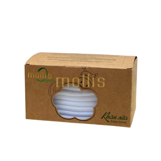 Bộ khăn sữa 30x30cm Mollis P777