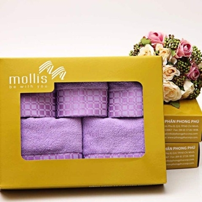 Hình ảnh của Bộ hộp khăn quà tặng Mollis-P721