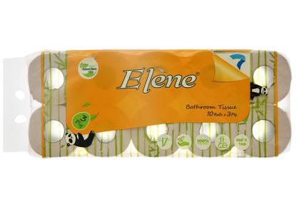 Giấy vệ sinh tre Elene 10 cuộn 3 lớp có lõi