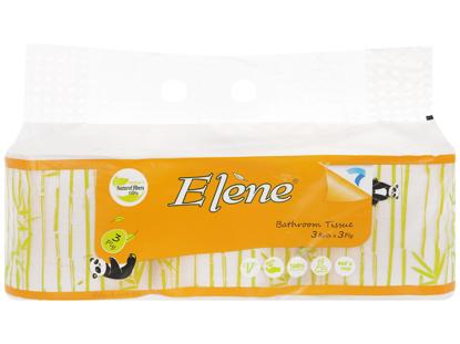 Giấy vệ sinh tre Elene 3 cuộn 3 lớp có lõi